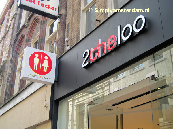 2theloo, public toilet in shopping street Kalverstraat