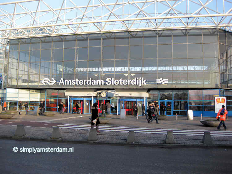 Amsterdam Sloterdijk train station