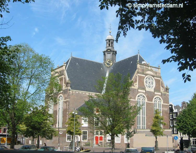 Noorderkerk in the Jordaan area