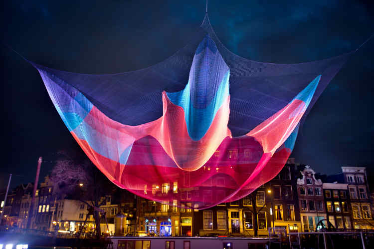 Today start of Amsterdam Light Festival