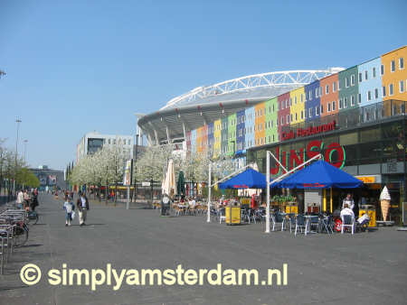 Amsterdam Arena Area shops open 7 days a week