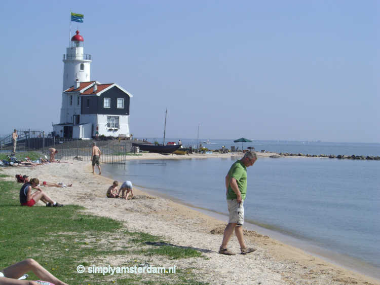 Beach near Marken Lighthouse