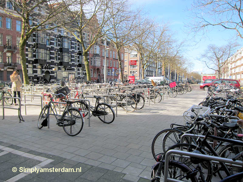 Bicycle parking Raamplein