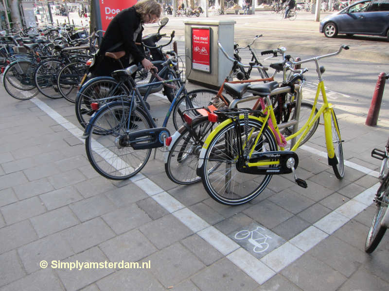 Bicycle parking zone