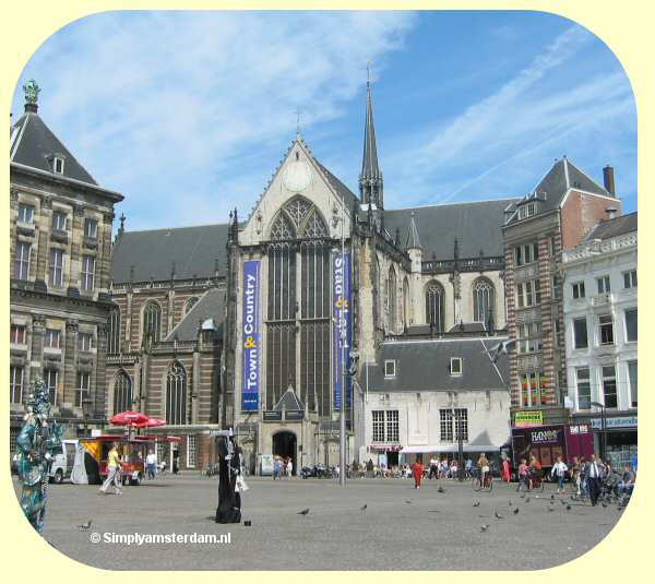 New Church (Nieuwe Kerk) in Amsterdam celebrates 600 years anniversary