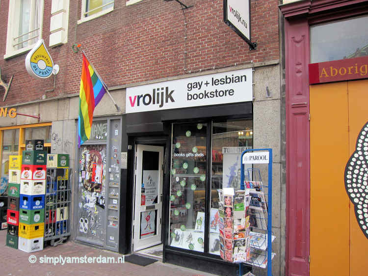 Book stores in Amsterdam