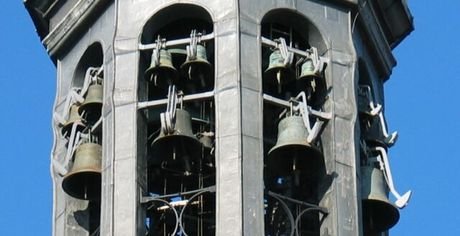 Church carillon concerts in Amsterdam centre in one afternoon