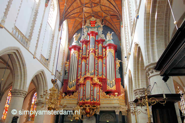 Church organs in/near Amsterdam