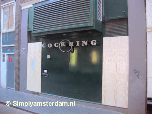 Famous Amsterdam gay night club boarded up due to drug trade