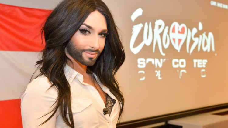 Conchita Wurst attends Amsterdam Gay Pride 2014