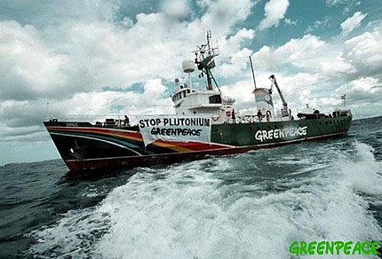 Open day of Greenpeace action ship
