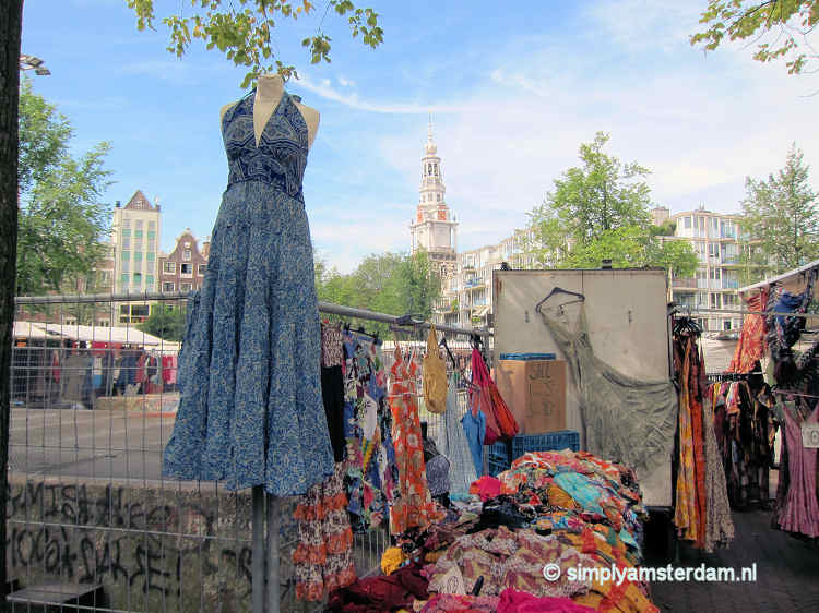 Waterlooplein street market