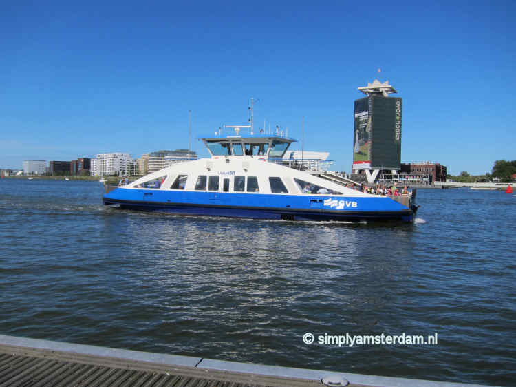 Ferries in Amsterdam