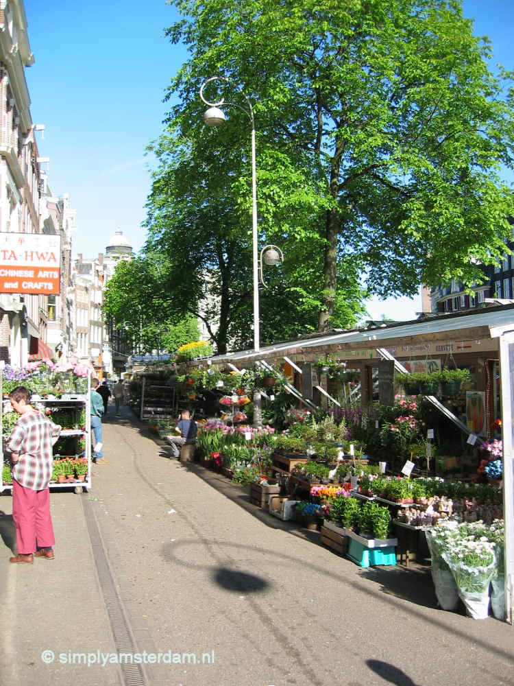 Flower Market at Singel