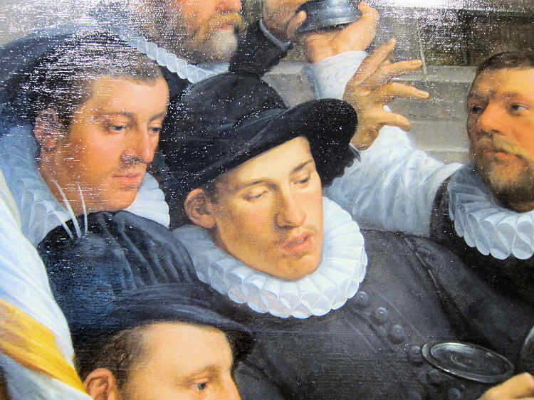 Frans Halsmuseum (detail of painting)