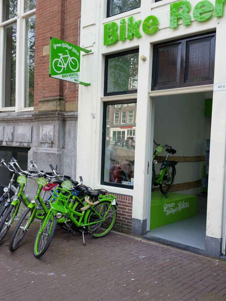 Green Budget Bikes (Red Light District)