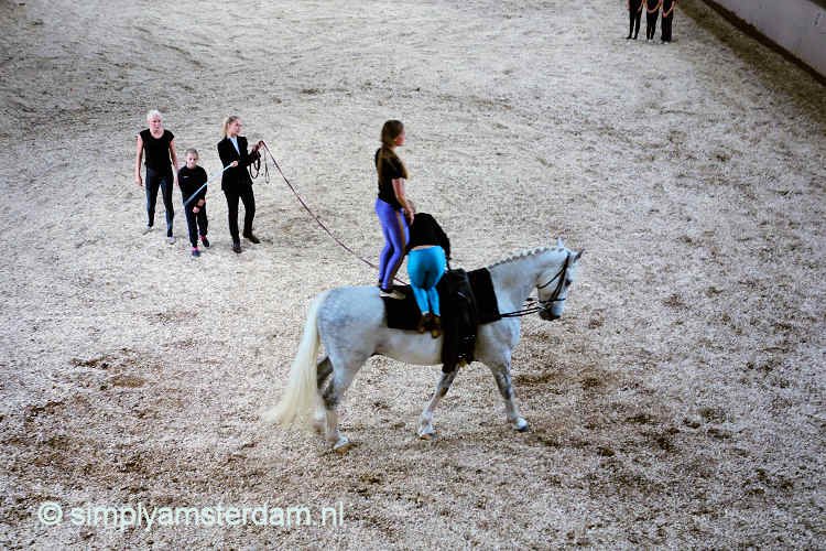 Voltige (gymnastics on horses) @ Hollandsche Manege