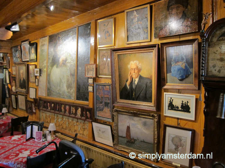 Hotel Spaander Volendam, paintings