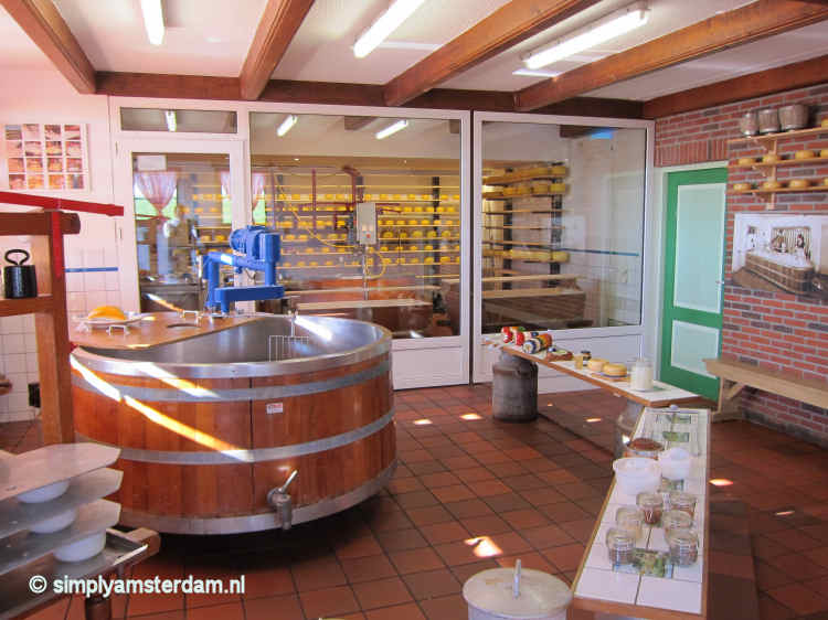 Jacobs Hoeve, cheese factory
