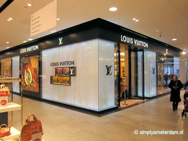 Louis Vuitton store in Bijenkorf