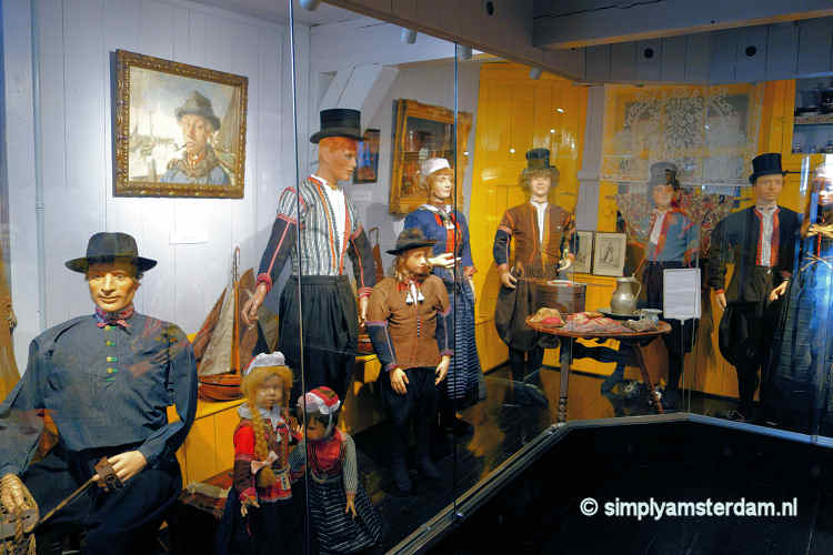 Traditional clothes in Marker Museum