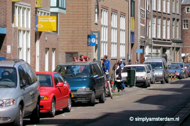 On-street parking in Amsterdam
