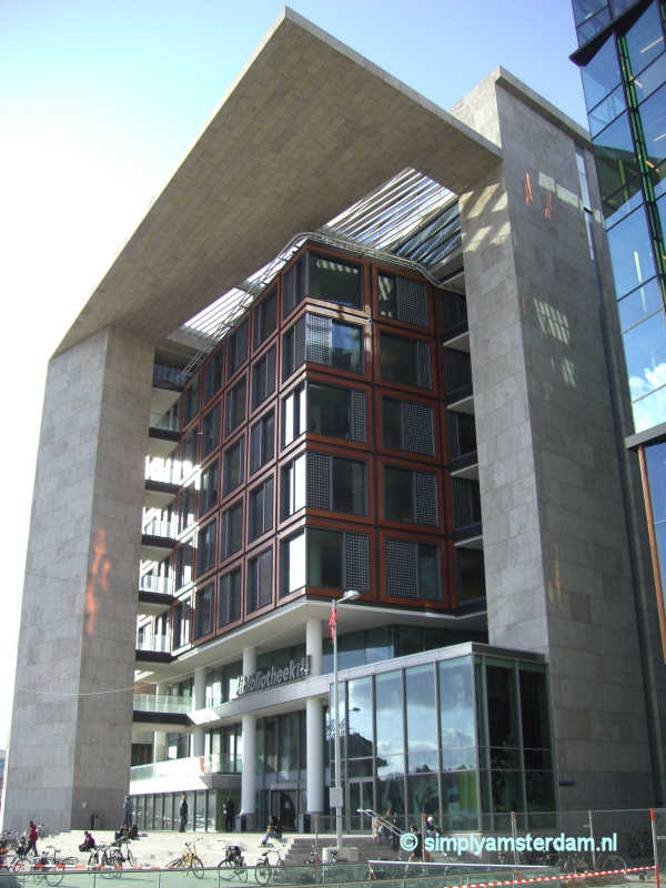 Main public library of Amsterdam