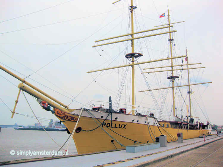 Former training ship Pollux @ NDSM Wharf