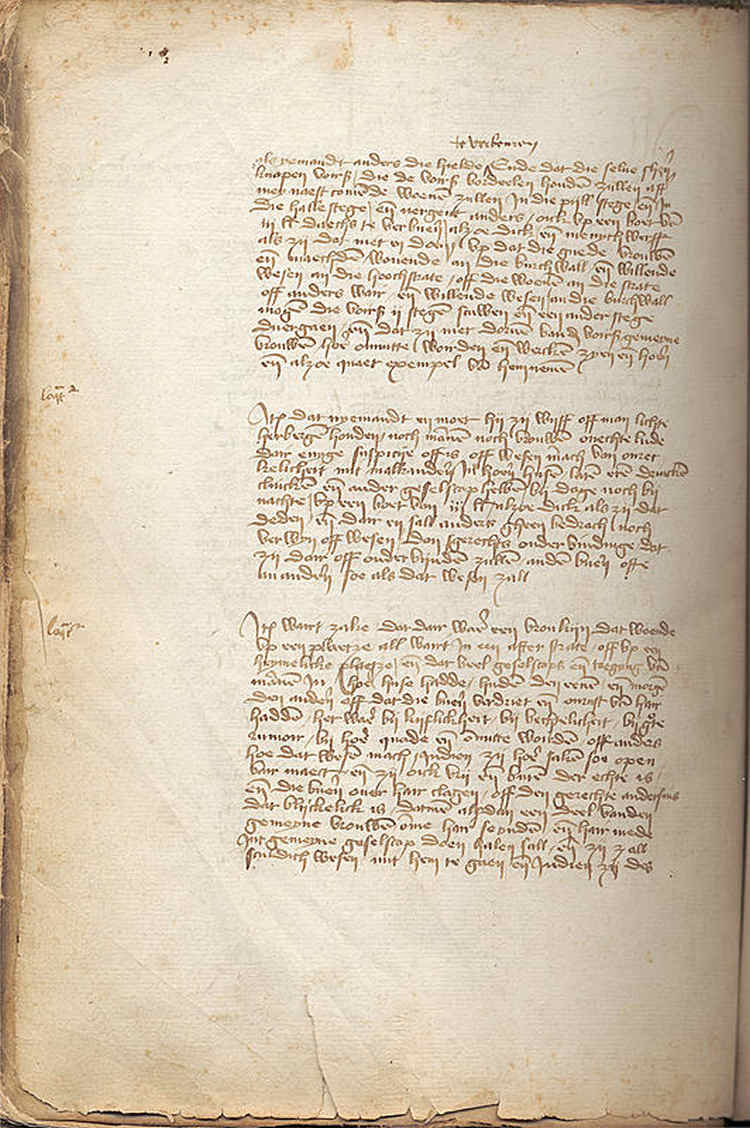 Amsterdam prostitution regulation from 1413