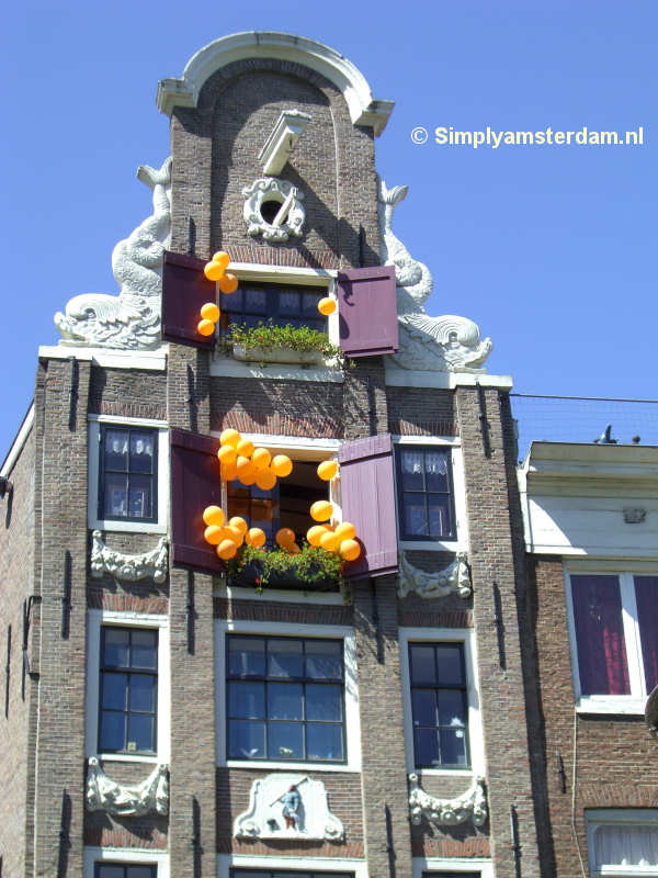 Less alcohol on Queens Day in Amsterdam