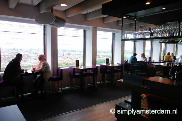 Ramada Apollo hotel, restaurant on 15th floor