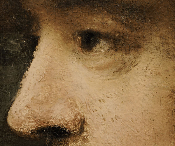 Nightwatch by Rembrandt, detail