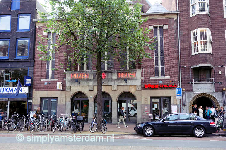 Comedy theater and clubs in Amsterdam