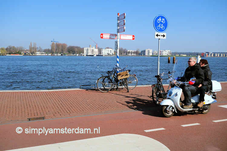 Scooter rental in Amsterdam