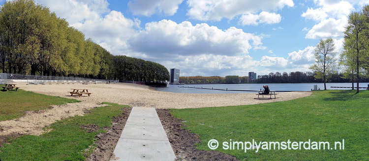 Sloterplas beach