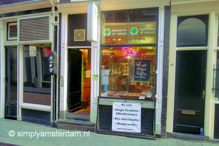 Smartshop in Warmoesstraat