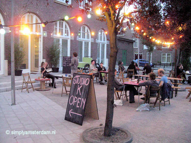 New cinema Studio K opened in Amsterdam East - admission August EUR 3.-