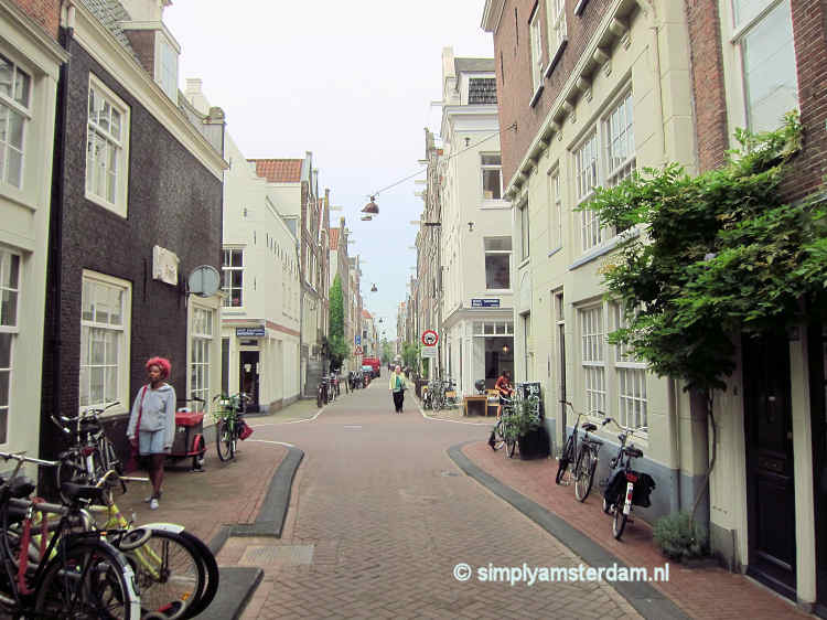 Typical Jordaan street
