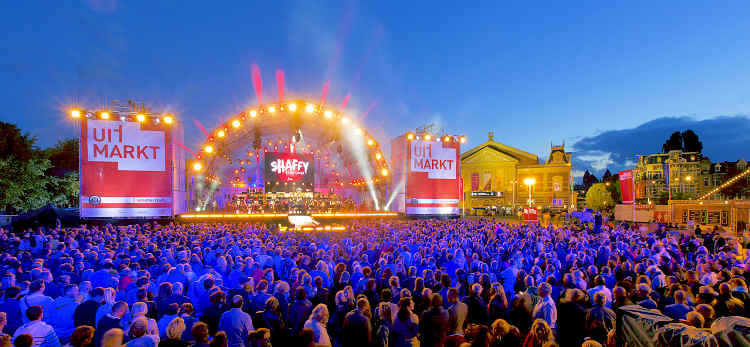 This weekend Uitmarkt Amsterdam 2014, opening of the culture season