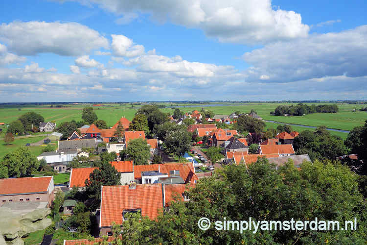 Village of Ransdorp, seen from church tower