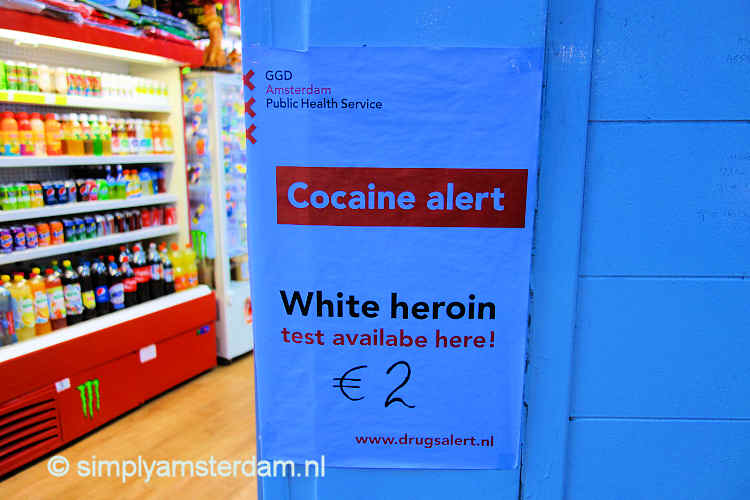 White heroin test available